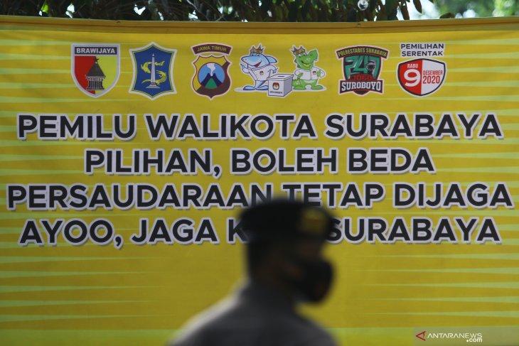 Deklarasi Kampanye Damai Pilkada Kota Surabaya