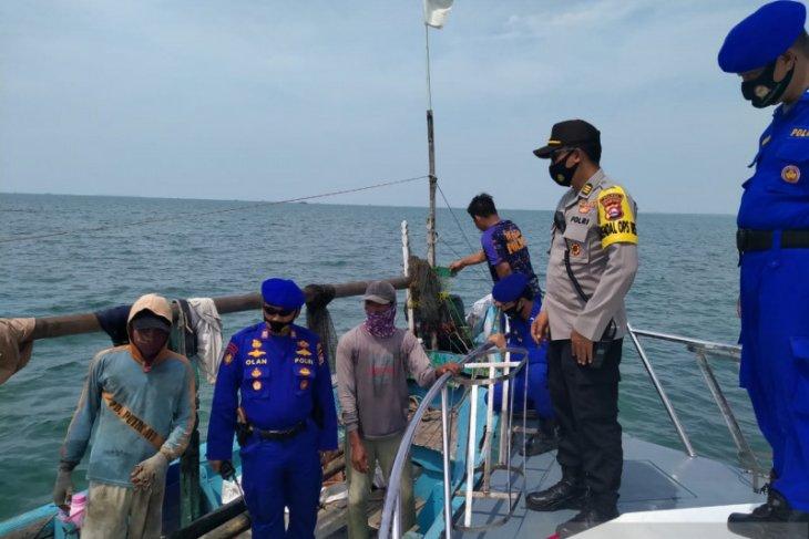 Polair Polres Serang Kota Laksanakan Operasi Yustisi di Perairan Karangantu