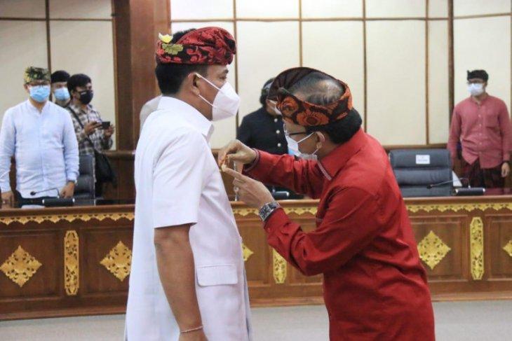 Gubernur Bali kukuhkan Ketut Lihadnyana jadi Pjs Bupati Badung