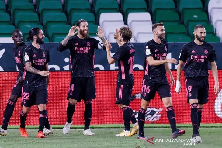 Liga Spanyol: Real Madrid merangsek ke lima besar