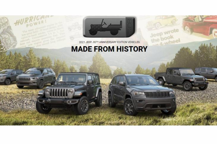 Wrangler dan Cherokee lengkapi jajaran Jeep 80th Anniversary