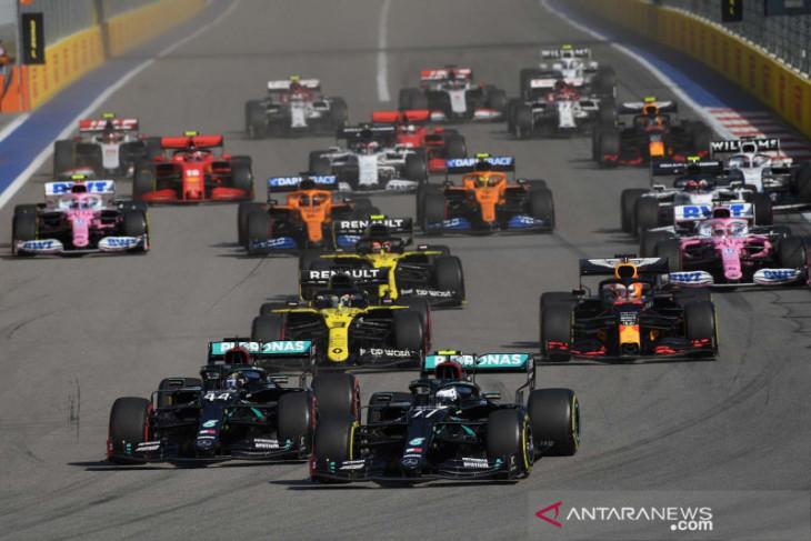 Formula 1: Statistik GP Rusia