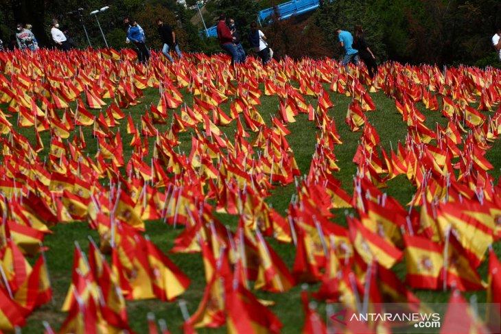 Madrid nyalakan  lampu Natal meski ekonomi anjlok karena COVID