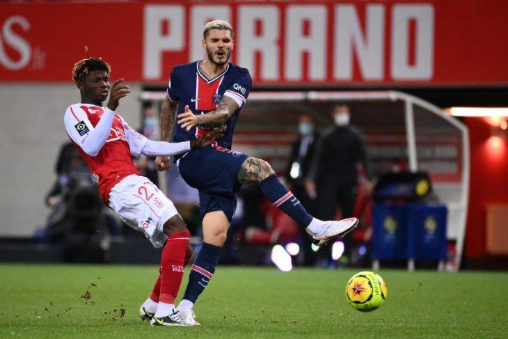 Sepasang gol Mauro Icardi membawa PSG atasi Reims 2-0