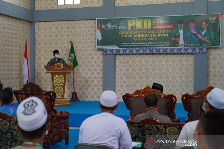 Wabup HSS : PKD GP Ansor tingkatkan kualitas kader