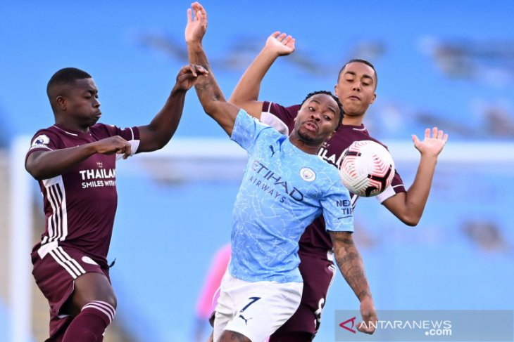 Leicester City catat kemenangan meyakinkan 5-2 atas Manchester City