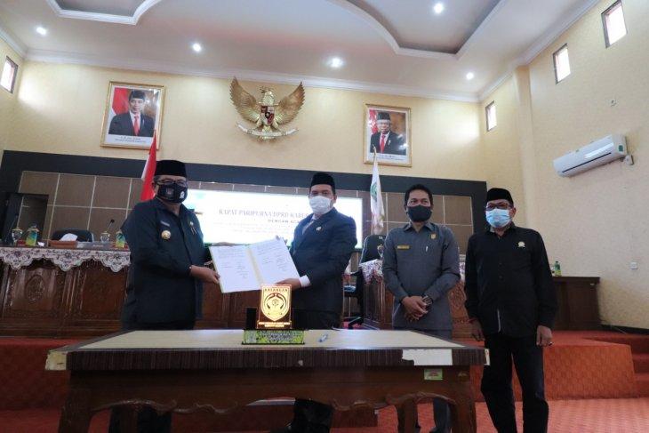 DPRD Balangan setujui Raperda APBD 2021