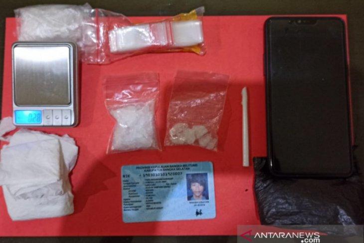 Polisi tangkap pengedar dan bandar narkoba di Toboali