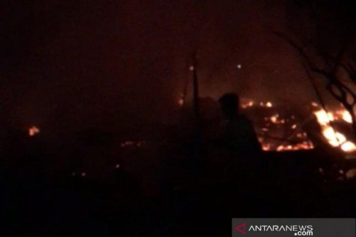 Enam rumah warga rusak akibat kebakaran di Kabupaten PPU