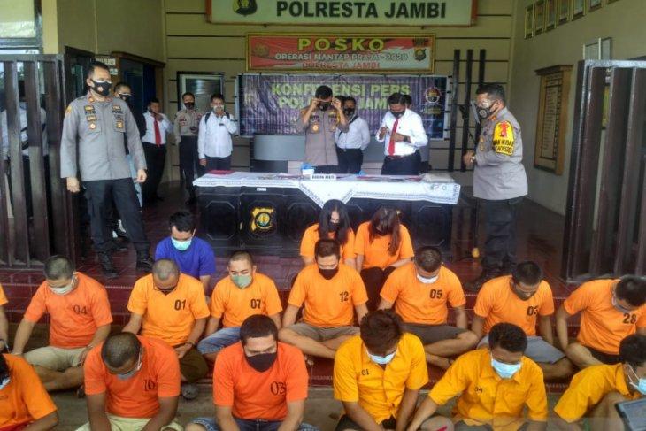 Polresta Jambi ungkap 22 kasus curanmor dan pencurian