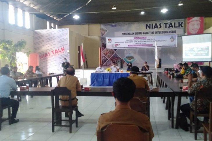KPU Gunungsitoli uji publik Daftar Pemilih Sementara