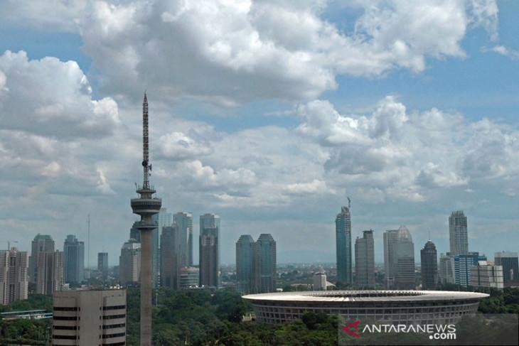 Cuaca kota-kota besar di Indonesia diprakirakan cerah  berawan