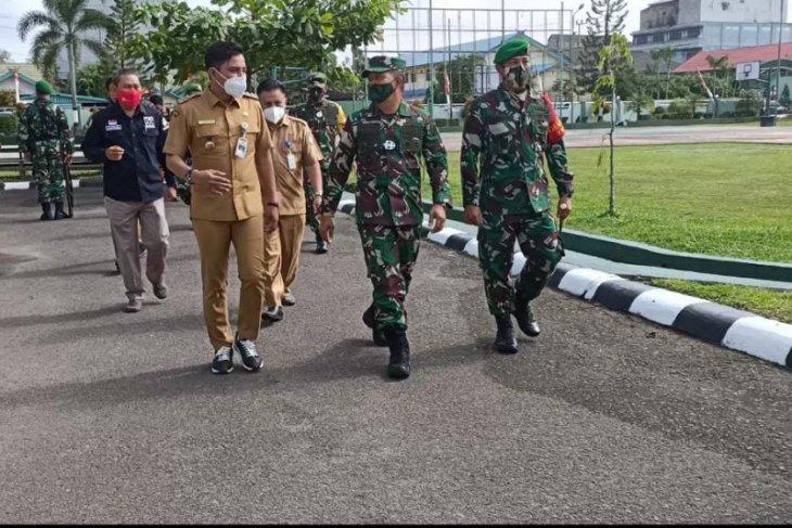 Aslat Kasad kunjungan kerja ke Wilayah Kodim 1015/Spt