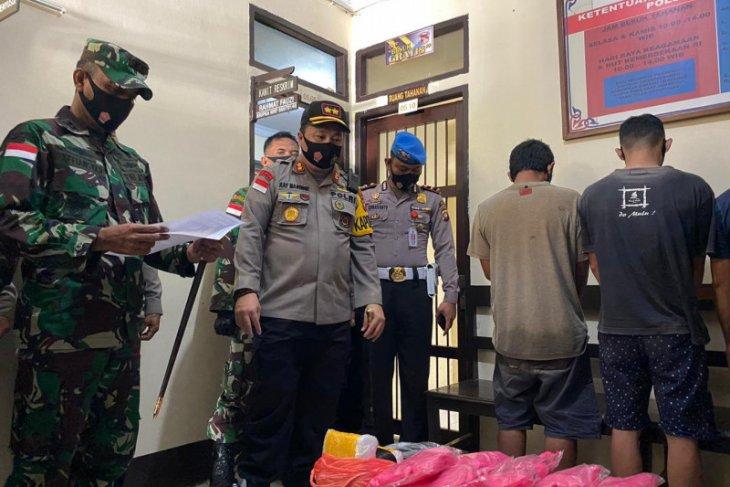 Tim gabungan gagalkan penyelundupan 12 kilogram sabu di perbatasan Indonesia - Malaysia