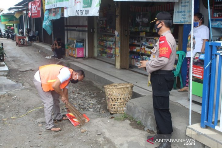 Kapolres Sukabumi Kota terjun langsung tindak pelanggar protokol kesehatan