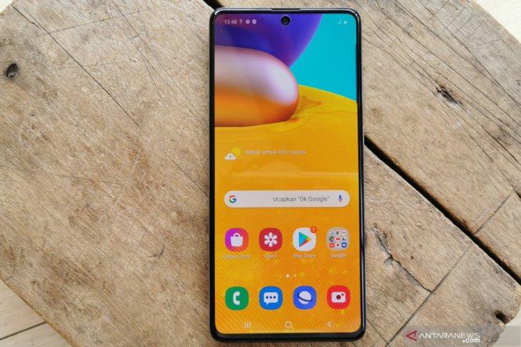 Samsung Galaxy A71, ponsel tipis jagonya main game online