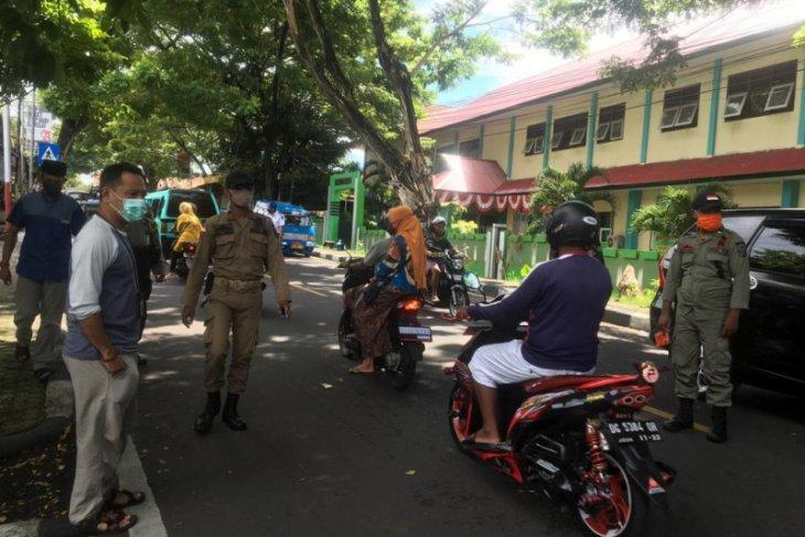 Pengendara di Kota Ternate tidak gunakan masker kena denda