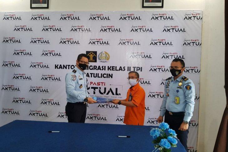Imigrasi Batulicin gandeng PT. Pos Indonesia tingkatkan pelayanan penerbitan paspor