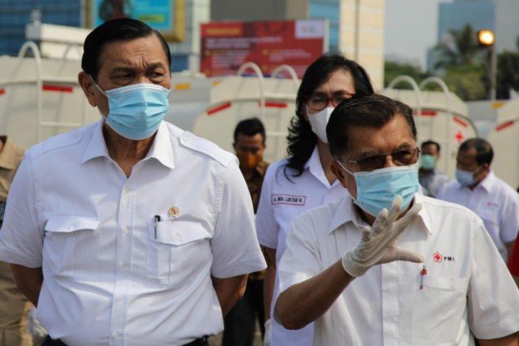 Luhut beberkan strategi hulu-hilir tangani pandemi COVID-19