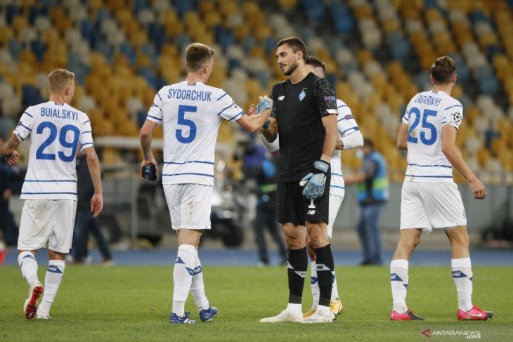Liga Champions: Jelang lawan Barcelona, sembilan pemain Dynamo Kyiv positif COVID-19