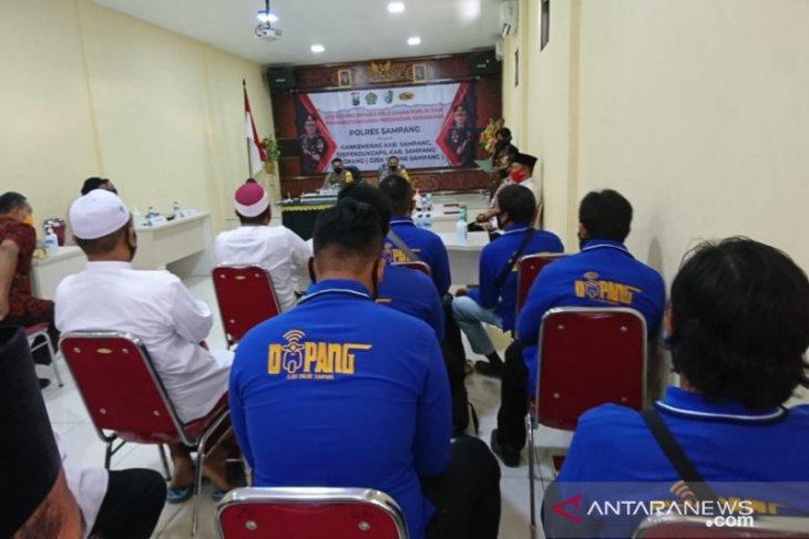 Polres Sampang gunakan layanan daring pengurusan SIM-SKCK
