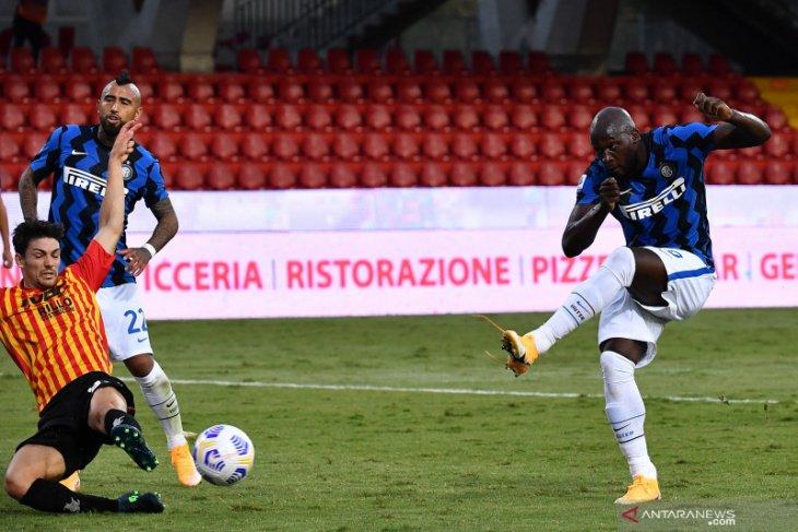 Inter Milan menang 5-2 atas Benevento