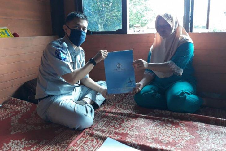 Jasa Raharja langsung serahkan santunan korban kecelakaan di Bungo