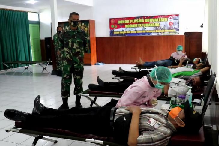 Danrem berharap terapi plasma konvalesen bisa tekan penyebaran COVID di Bali