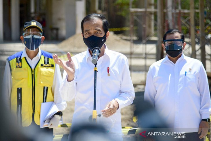 Presiden Jokowi: UU Ciptaker atur perusahaan tidak bisa PHK sepihak
