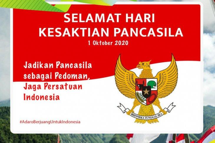 Hari Kesaktian Pancasila Momentum meningkatkan semangat kebangsaan
