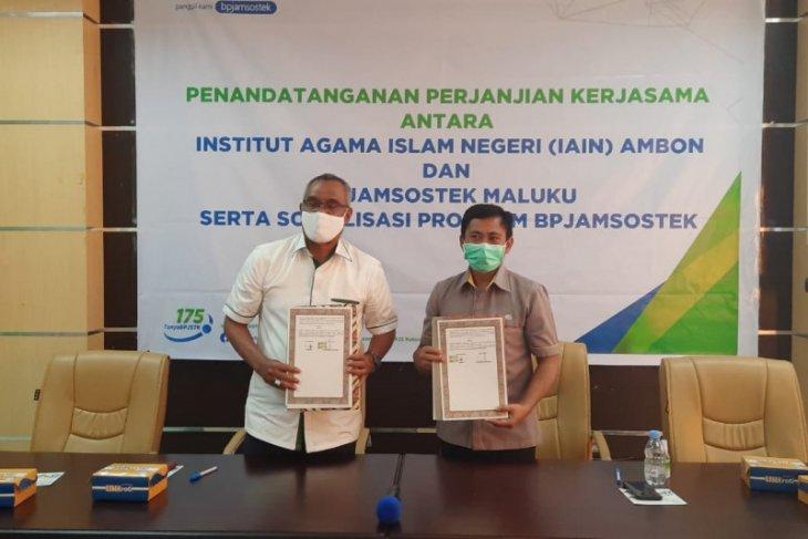 BPJAMSOSTEK Maluku - IAIN Ambon kerja sama kepesertaan jaminan sosial