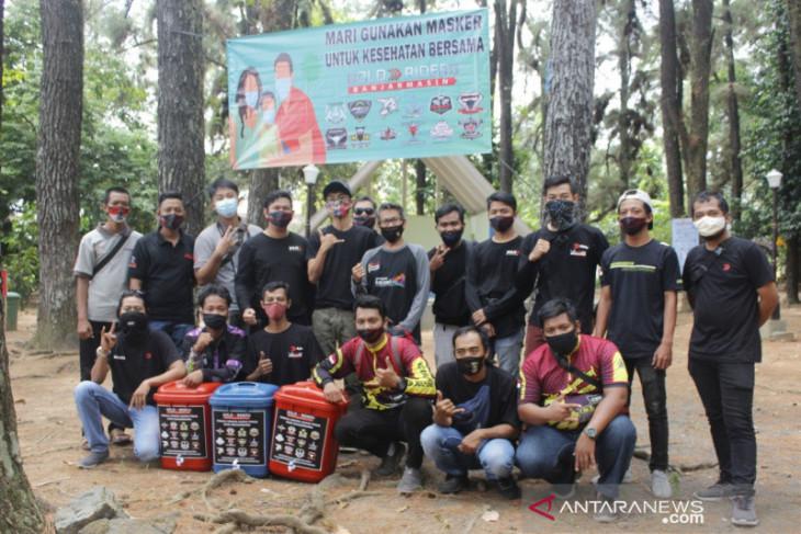 Komunitas motor dukung kebangkitan wisata hutan pinus mentaos Banjarbaru