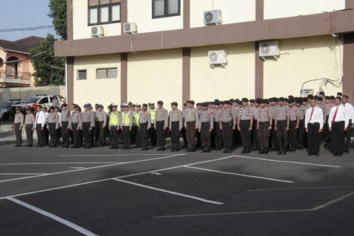 Polda Malut siagakan personel hadapi Pilkada serentak 2020
