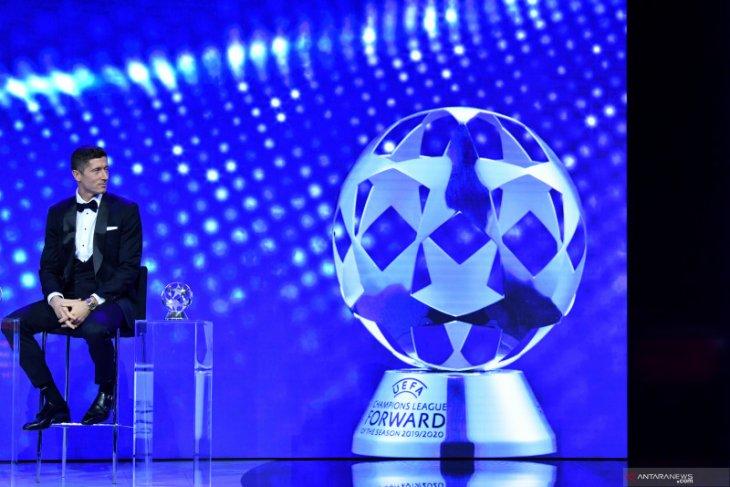 Lewandowski kawinkan gelar Pemain Terbaik UEFA dan Penyerang Terbaik Liga Champions 2019/2020