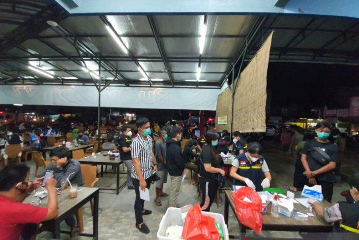 102 orang terjaring razia tim Pemkab Sintang akibat langgar protokol kesehatan