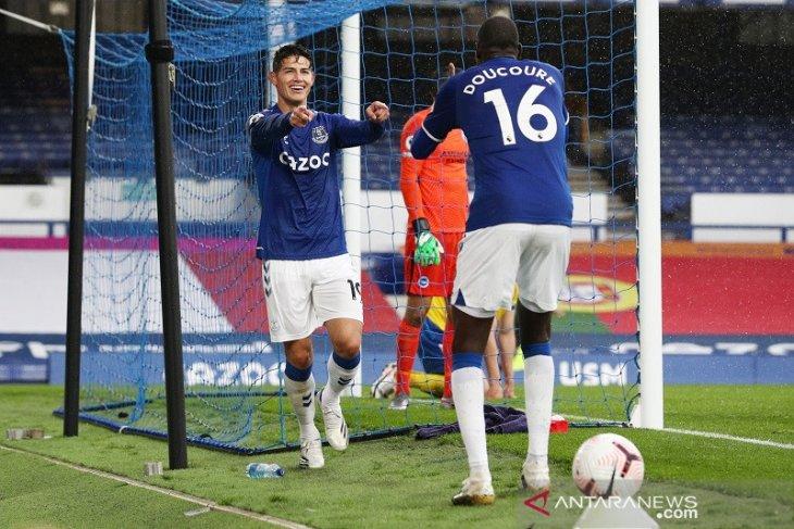 Everton hantam Brighton 4-2 pekan keempat Liga Inggris