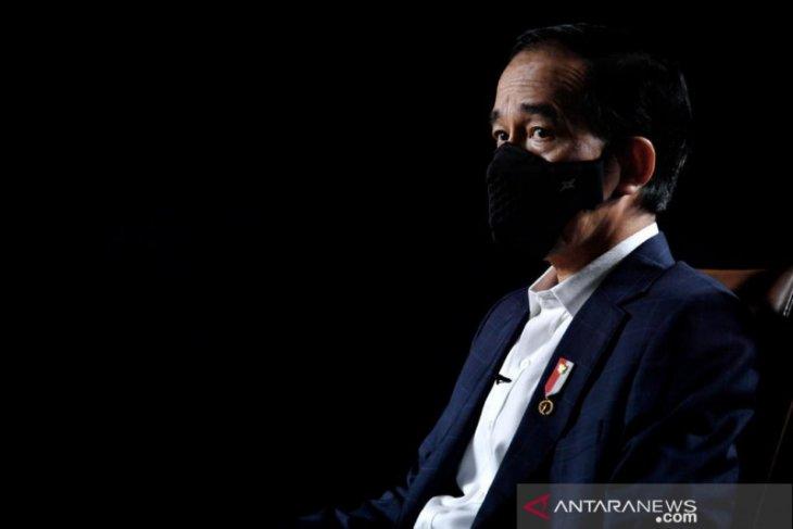 Jokowi tak akan lindungi pejabat terlibat korupsi