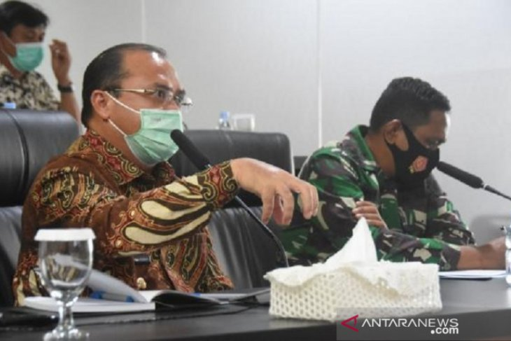 Pemprov Babel - Mabes TNI AL bahas peningkatan Pelabuhan Belinyu