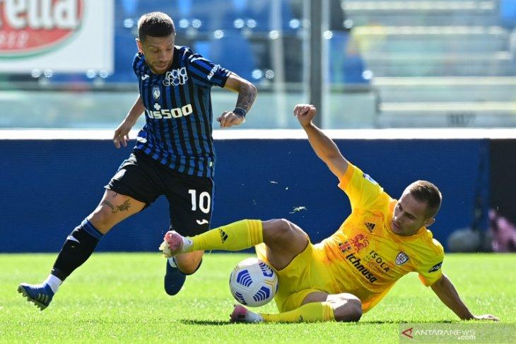 Atalanta rebut pucuk klasemen setelah hancurkan Cagliari 5-2