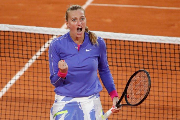 Kvitova ke semifinal kedua di Roland Garros