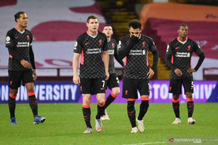 Liga Inggris - Liverpool dibantai 2-7 oleh Aston Villa, Virgil van Dijk serukan agar tetap tenang