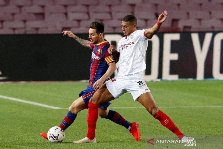 Liga Spanyol, Barcelona berbagi poin dengan Sevilla