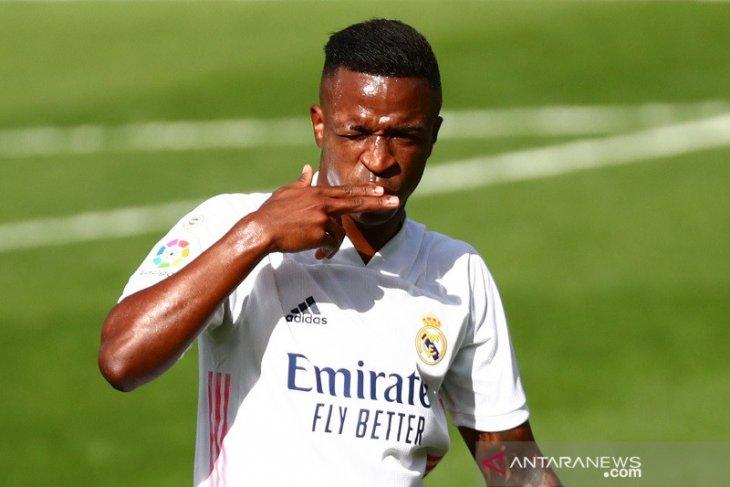 La Liga Spanyol - Vinicius Junior ingin bertahan selamanya di Real Madrid