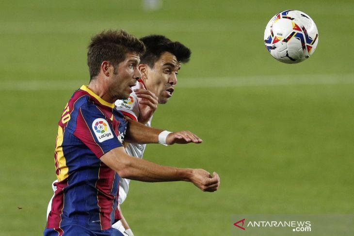 Barcelona berbagi poin dengan Sevilla