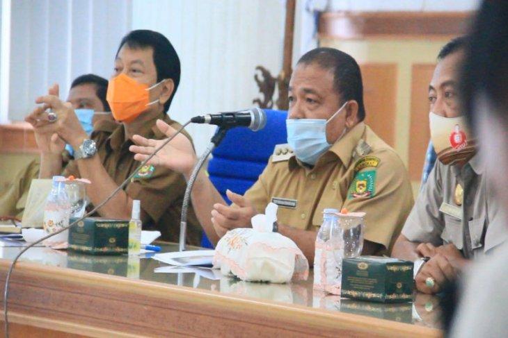 Bupati Langkat gelar pertemuan menyangkut okupasi lahan antara warga dan PTPN II