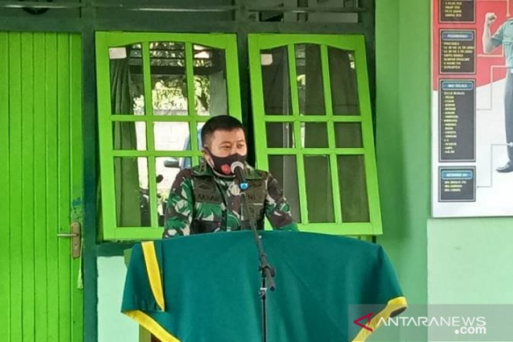 HUT TNI ke 75, Dandim 0414 Belitung berharap TNI semakin dicintai rakyat