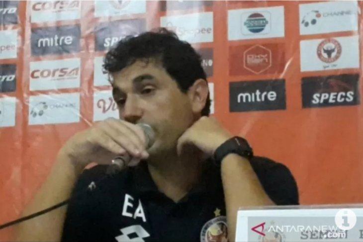 Eduardo Almeida  nilai Semen Padang berada di Grup yang kompetitif di Liga 2