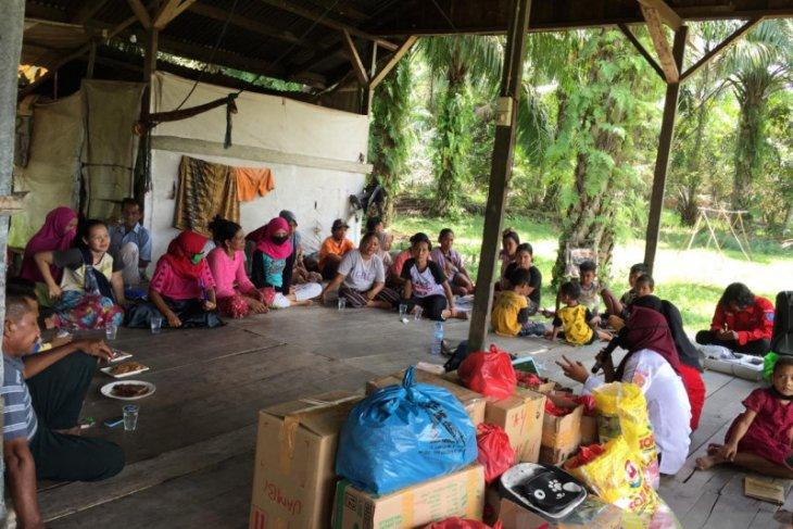 UKM KSR PMI UPT Universitas Jambi gelar Kegiatan Mengabdi bersama Suku Anak Dalam
