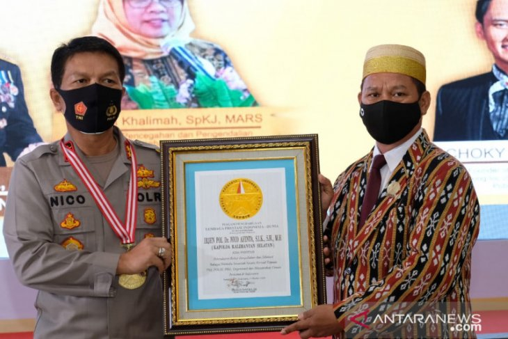 S Kalimantan Police's webinar a vaccine for drug diseases