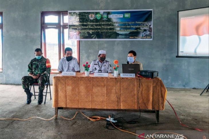Camat Muara Wahau dukung program FCPF